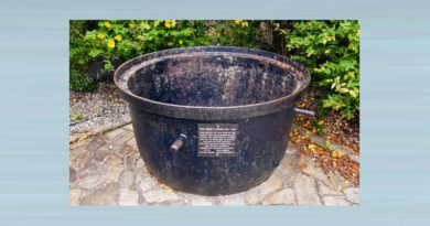 Famine Pot at the Irish Famine Museum
