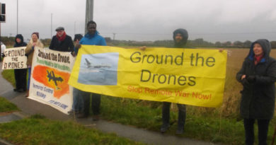 Demonstration at RAF Waddington
