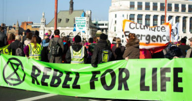 Extinction Rebellion's Declaration Letter