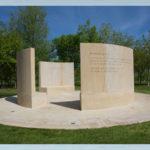Quaker Stone Bench Memorial