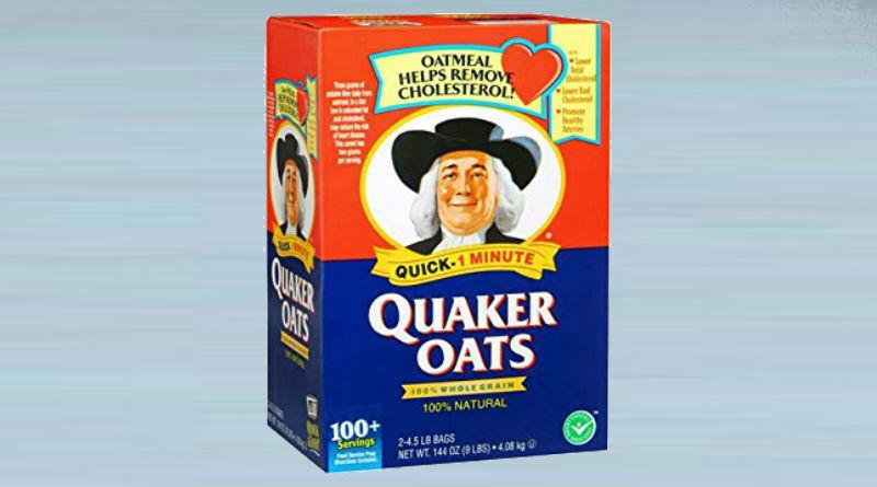 A Box of Quaker Oats
