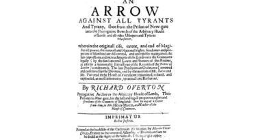 An Arrow Against All Tyrants and Tyranny