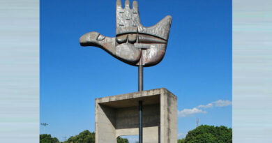 The Open Hand Monument
